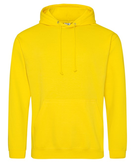 AWDis Sunflower Yellow Adults Hoodie - UNISEX - JH001