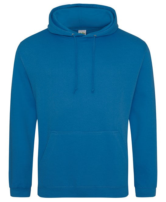 AWDis Tropical Blue Adults Hoodie - UNISEX - JH001