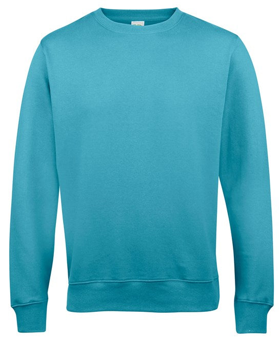 AWDis Turquoise Surf Adults Sweatshirt - JH030