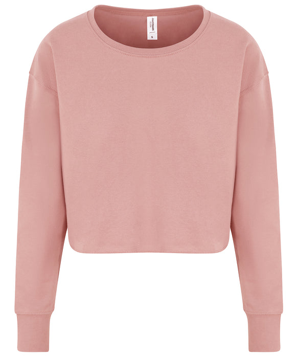 AWDis Women's Cropped Sweatshirt - JH035