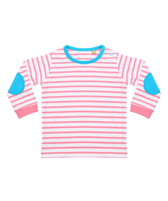 Larkwood Striped Sleeved T-Shirt - LW28T