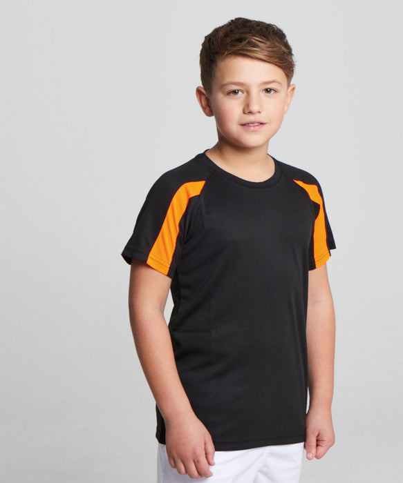 AWDis Kids Contrast Cool T-Shirt - JC03J