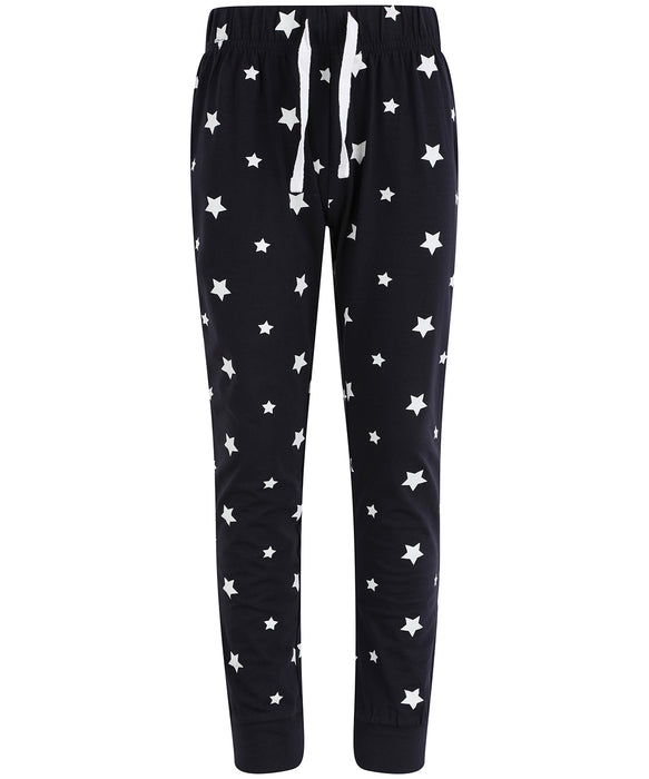 SF Minni Kids Cuffed Lounge Pants Stars - SM085