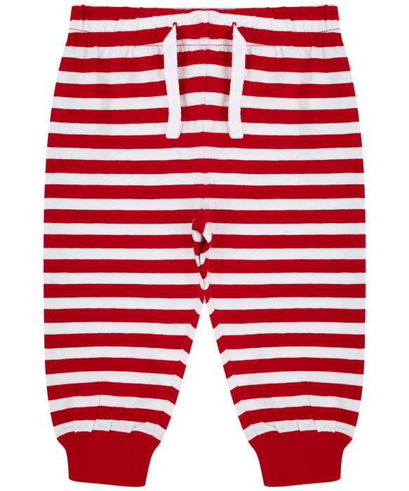 Larkwood Red Striped Lounge Pants - LW85T