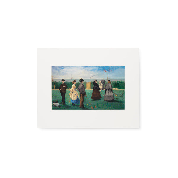 The Croquet Party Print