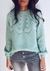 GREEN JUNE SWEATER