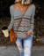 Multi-Colored Striped Casual Sweater(4 Colors)