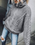 High-Necked Collar Twist Casual Sweater(3 Colors)