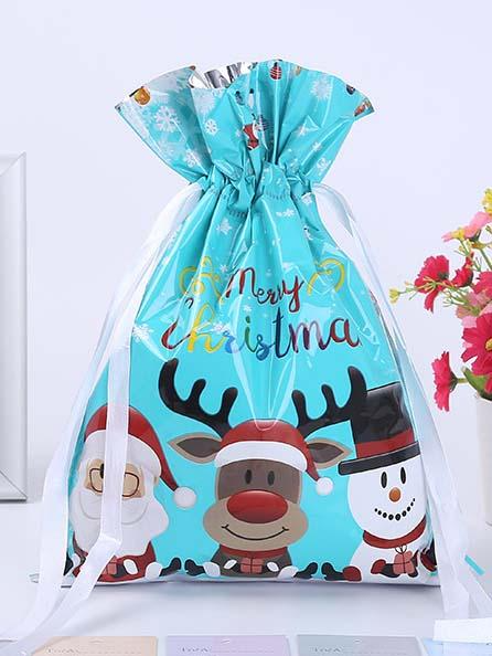 CHRISTMAS GIFT PACKAGING BAG CANDY BAG