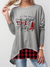 WOMEN'S ITS THE MOST WONDERFUL TIME OF THE YEAR GRAPHIC PRINT SWEATSHIRT