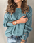 Lantern Sleeve Button Decorated Casual Sweater(9 Colors)