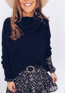 BLACK SWEATER NAGEL