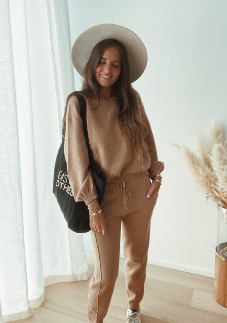 BENI CAMEL SWEATER (TOGETHER 1 OF 2)