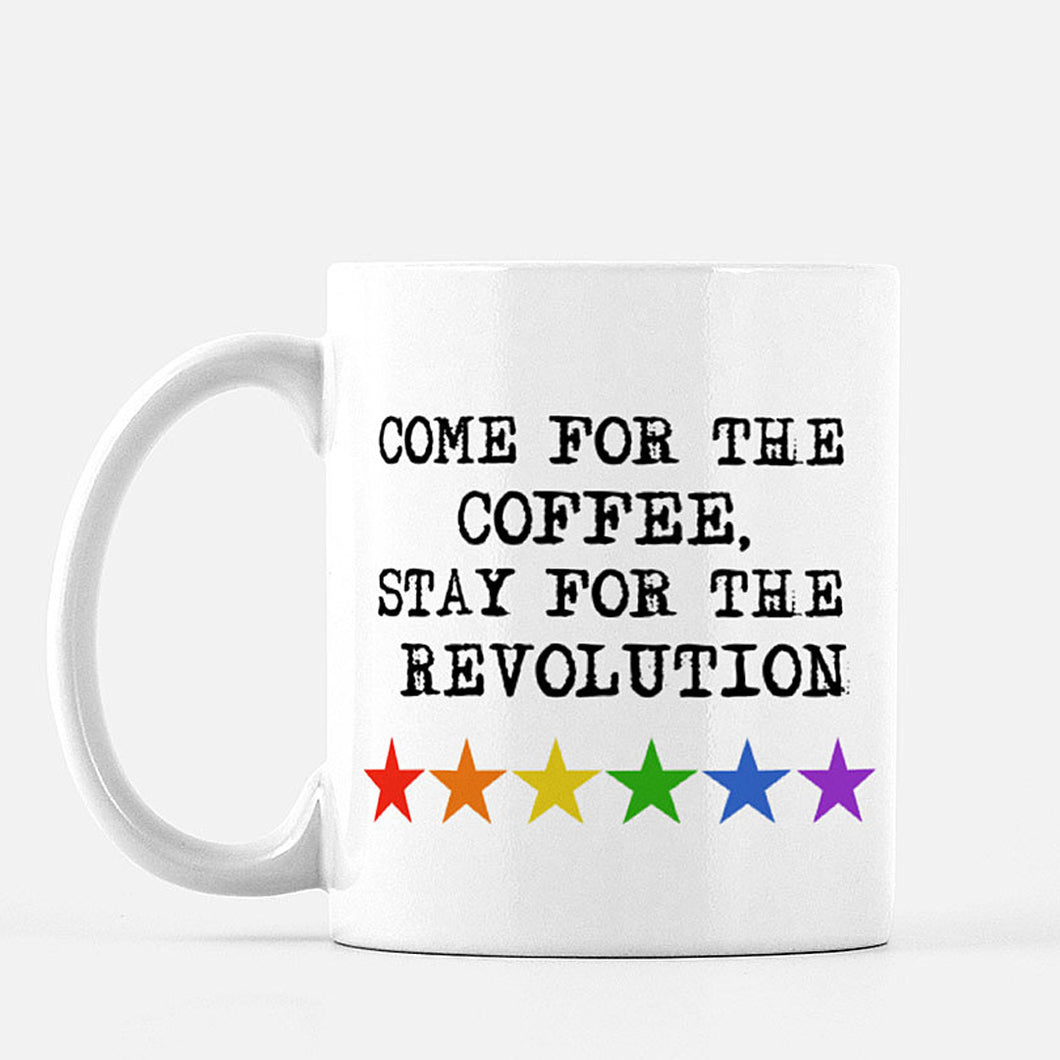 Rainbow Star Revolution Mug