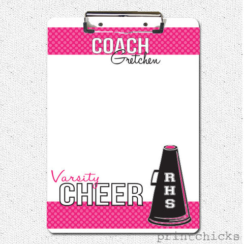 cheer coach clipboard