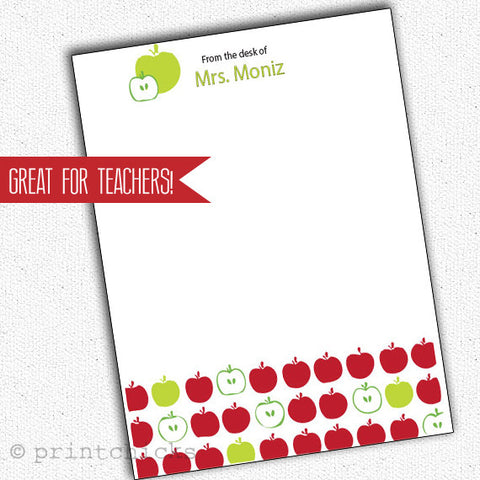 Personalized Teacher Notepads - PrintChicks