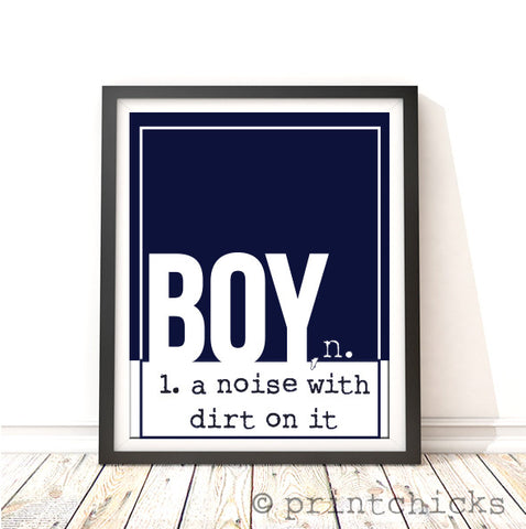 boys room poster