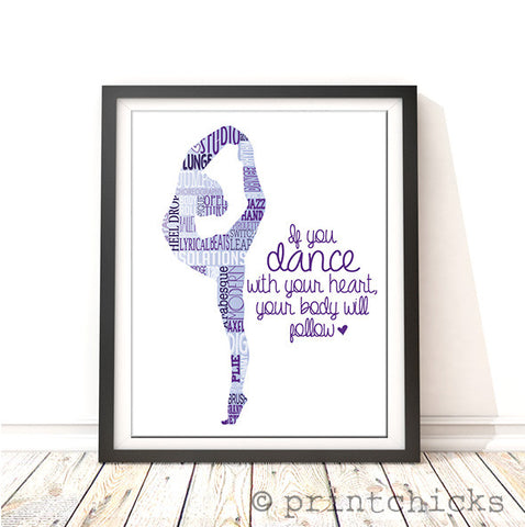 personalized dance gift