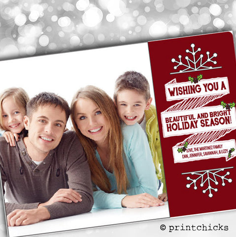 Happy Holidays Card - PrintChicks