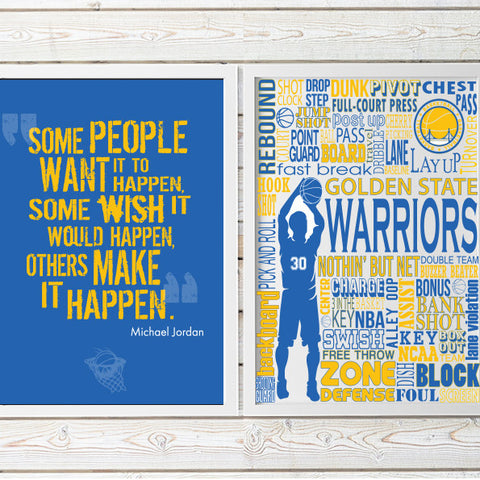 Golden State Warriors decor