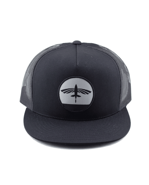 Flying Fish Sunset Hat - Black