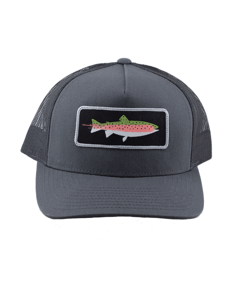 Rainbow Trout Hat (mid)