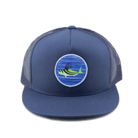 Roosterfish Blue Tide Hat