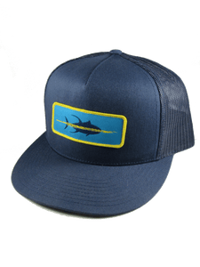 Yellowfin Fishing Hat - Side
