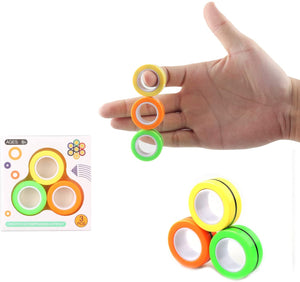 3 PCS Stress Relief Magnetic Rings
