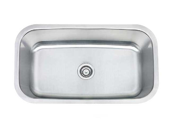"29.5"" CLASSIC SINGLE BOWL UNDERMOUNT KITCHEN SINK"