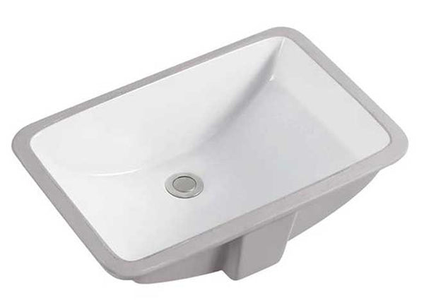 "18.5"" RECTANGULAR UNDERMOUNT BATH SINK"