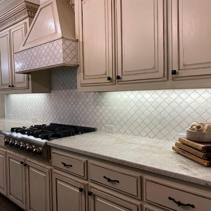 Taj Mahal Quartzite Kitchen Countertops in Frisco, TX