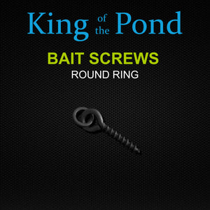 Bait Screws Round Ring, Carp Fishing