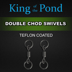 Ring Swivels, Carp fishing, chod rig, king of the pond, chod swivels,