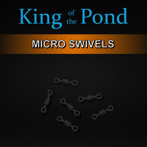 micro swivels, barbel fishing, perch fishing