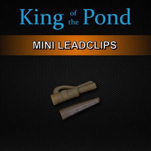 mini leadclips, barbel fishing, barbel rigs, korum fishing