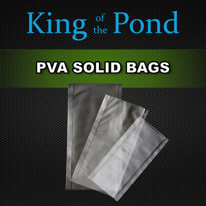 Solid pva bags, pva, pva mesh, carpfishing, king of the pond, korda, nash,