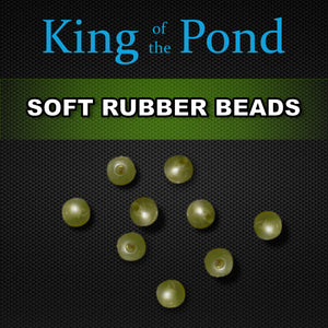 rubber shock beads, carp rigs, carp fishing, king of the pond