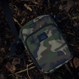 camo tackle bag, carp fishing, essentials bag