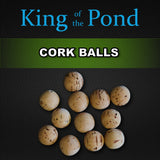 Cork Balls, Carp fishing, cork ball pop up, esp tackle