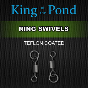fexi Ring Swivels, ring swivels, heli rings, Carp fishing, chod rig, king of the pond