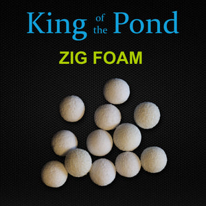 White Zig Foam, Carp fishing, Zig Rigs