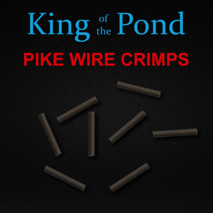 Pike Wire Crimps, Pike Fishing