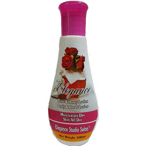 Elegance Body Lotion With Rose & Honey - 100 ml