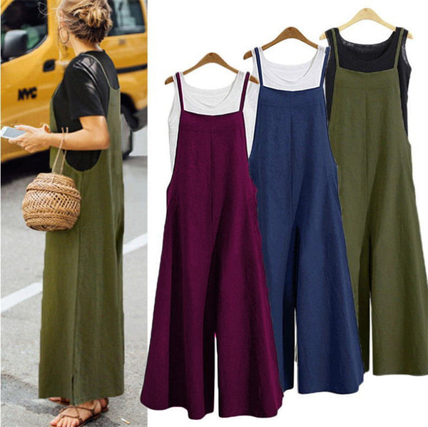 Loose Maternity Pants Pregnant Trousers Strap Bib Pants for Pregnant Women Sleeveless Overalls Rompers Jumpsuit Plus Size 5XL