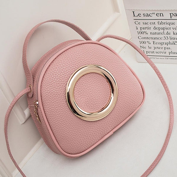 AUAU-Fashion Leather Little Girl Handbag Multi-Function Fashion Lady Messenger Bag 2019