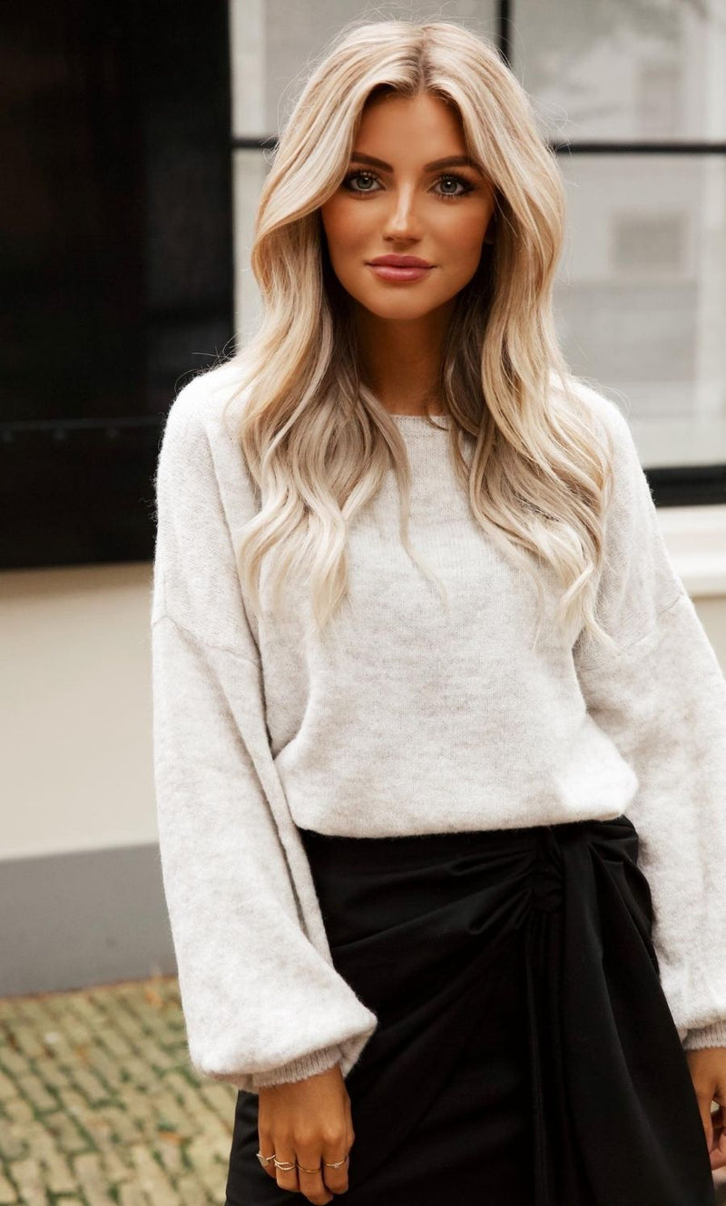 LouLou Sweater light-grey