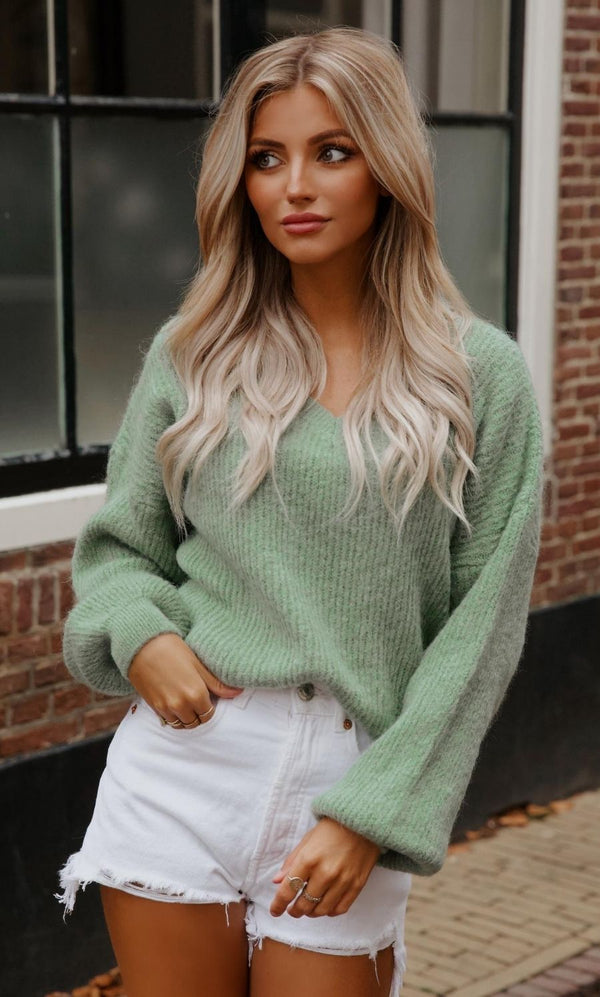 Saartje Sweater Green