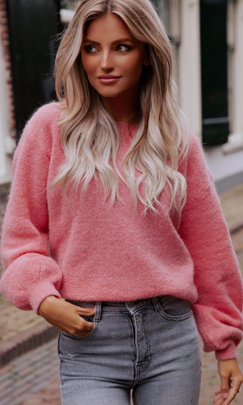 Ollie Sweater Pink