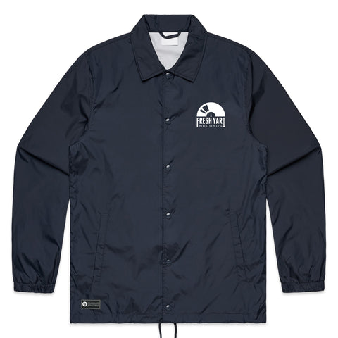 FYR Logo Coach's Jacket (navy)